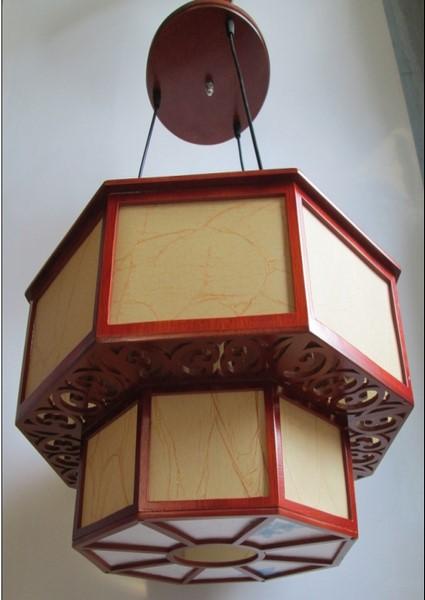 đèn ốp gỗ 714