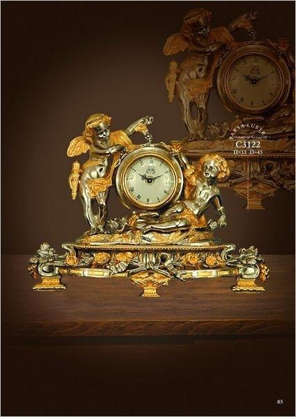 Đồng hồ mạ vàng c3122