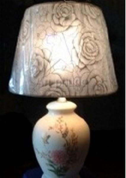 đèn bàn gốm 0585