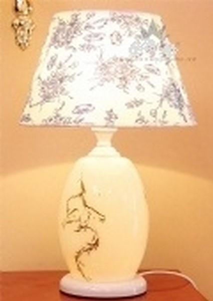 đèn bàn gốm 8007