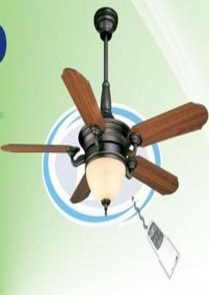 quạt đèn cánh gỗ QT02