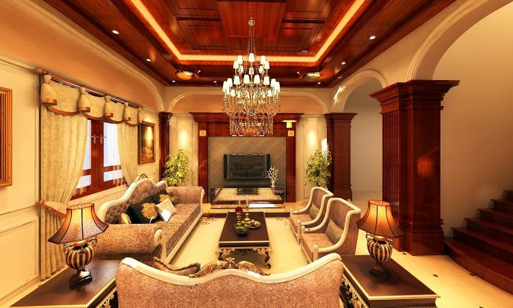 Lắp Đặt hệ thống đèn chùm đèn trang trí cho toàn bộ ngôi biệt thự nhà chú Phúc Linh