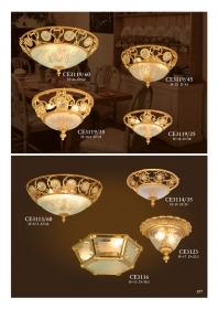Mẫu sản phẩm đèn chùm đồng mạ vàng iran 101