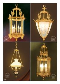 Mẫu sản phẩm đèn chùm đồng mạ vàng iran 102