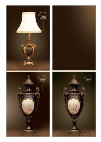 Mẫu sản phẩm đèn chùm đồng mạ vàng iran 105