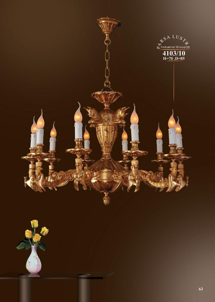 Chùm Iran đồng mạ vàng 4103-10