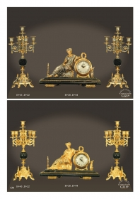Mẫu sản phẩm đèn chùm đồng mạ vàng iran 74