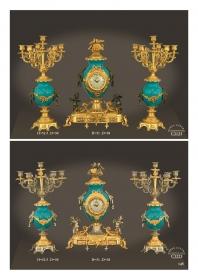 Mẫu sản phẩm đèn chùm đồng mạ vàng iran 86