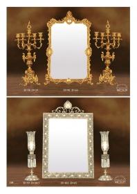 Mẫu sản phẩm đèn chùm đồng mạ vàng iran 89
