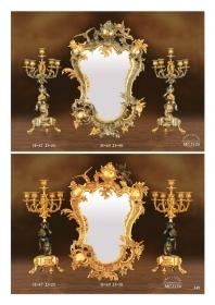 Mẫu sản phẩm đèn chùm đồng mạ vàng iran 90