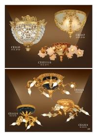 Ốp trần Iran đồng mạ vàng  CE3135-CE3117-CEH3111-CE3112-CE3125