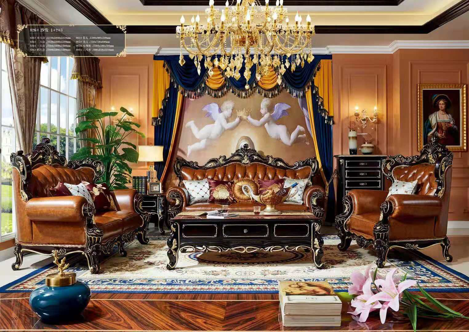 Bộ Sofa da SF13