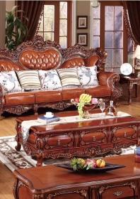 Bộ Sofa da SF05brown