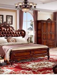 Giường ngủ GN03-Brown