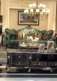 Bộ Sofa da SF01-Jadegreen