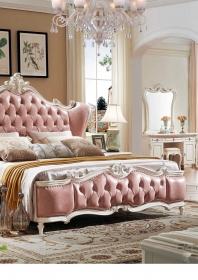 Giường ngủ GN04-Pink
