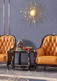 Bộ sofa da bàn trà BT01-O