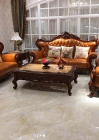 Bộ Sofa da SF07orange